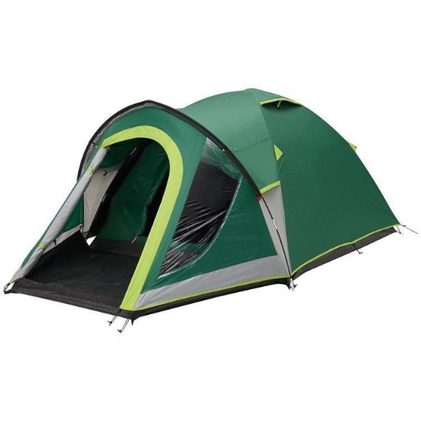 Coleman Kobuk Valley 4 Plus Tent with Carry Bag Green/Grey Camping Tent